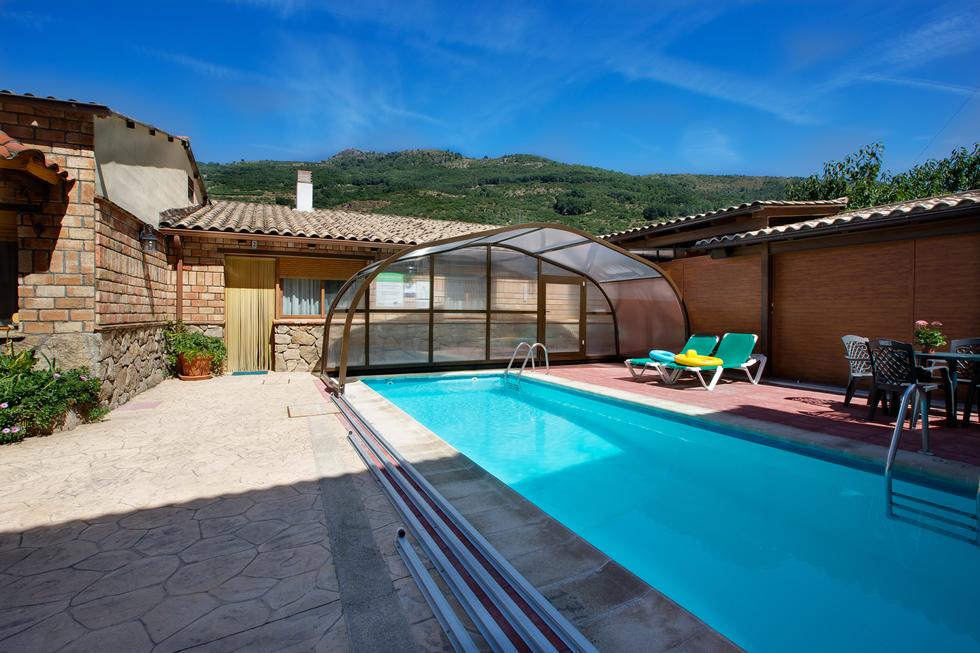 Zona comun casa rural carroyosa - Casas rurales en el jerte con piscina ...